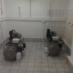Kompresory w Zakładzie Stomatologii Zachowawczej Przedklinicznej i Endodoncji Przedklinicznej