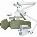 Unit OMS Universal ML z mikroskopem KAPS - widok z góry